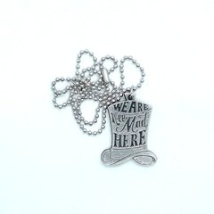 Collar Alice in Wonderland - We are all Mad Here - comprar online