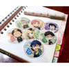 Set De 7 Stickers Circulares De Ao No Exorcist