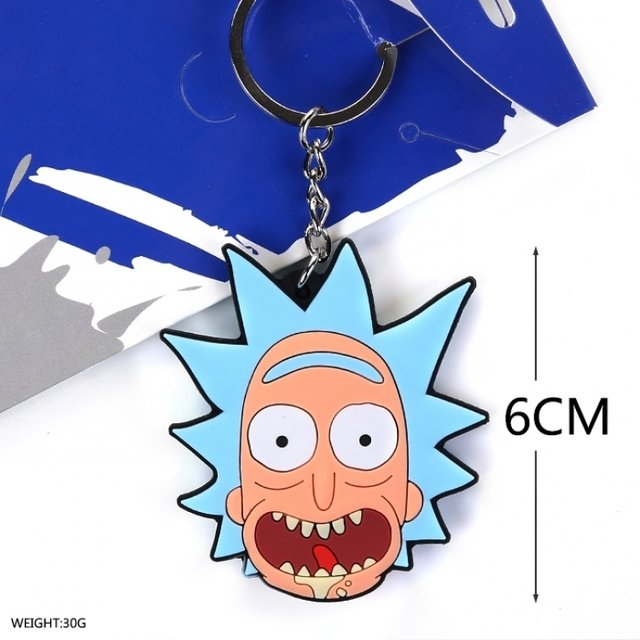 Llavero De Rick and Morty - Rick (cara) - comprar online