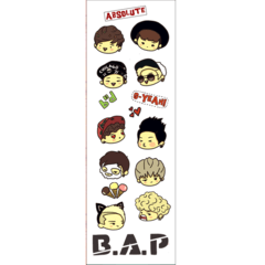 Plancha De Stickers De K-pop - B.a.p.