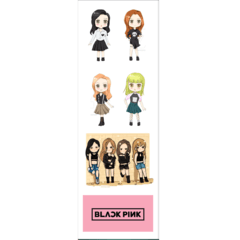 Plancha De Stickers De K-pop - Black Pink