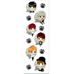 Plancha De Stickers De K-pop - Bts