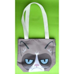 Mini Tote Bag De Grumpy Cat