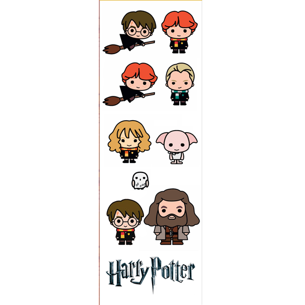 Plancha De Stickers De Harry Potter - comprar online