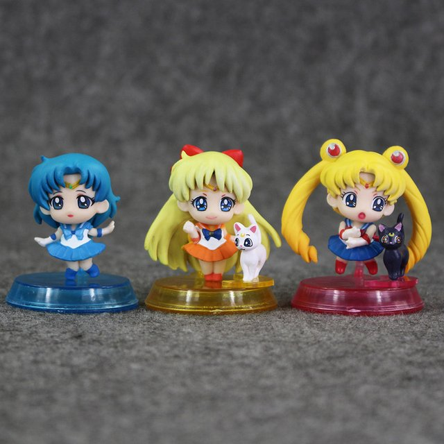 Imagen de Gashapon de Sailor Moon - 20th Anniversary