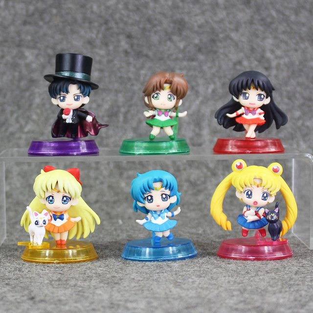 Gashapon de Sailor Moon - 20th Anniversary en internet