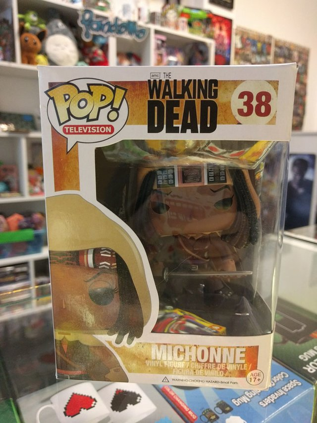 Funko Pop The Walking Dead - Michonne en internet