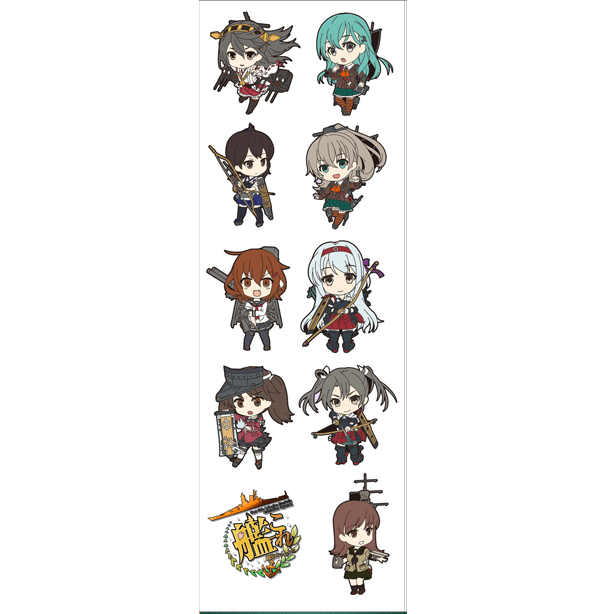 Plancha De Stickers De Kantai Collection - comprar online