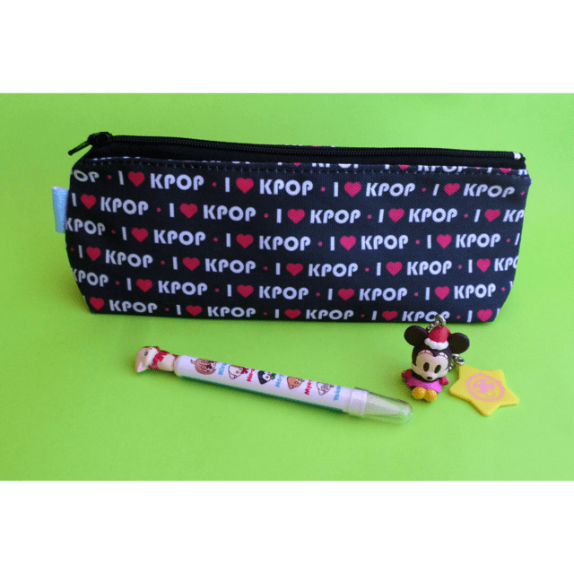 Cartuchera Triangular De I Love K-pop - comprar online