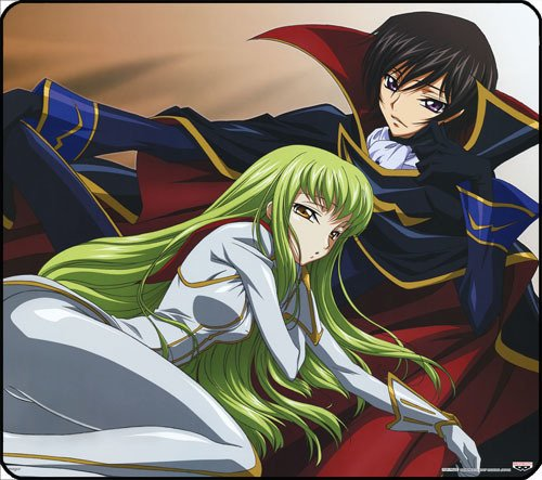 Mousepad De Code Geass en internet