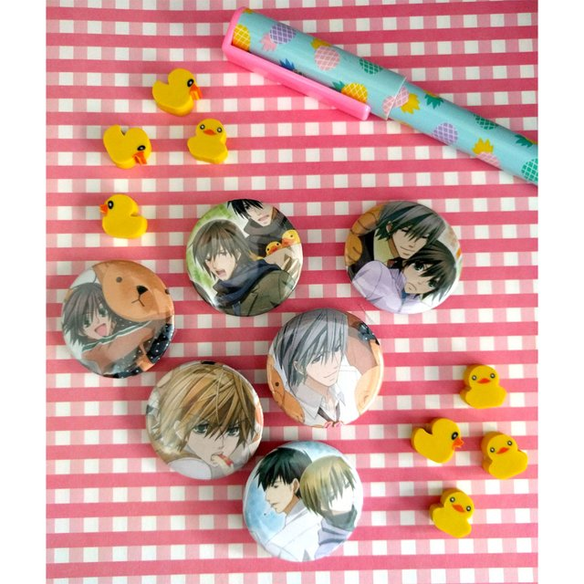 Set De 6 Pins De Junjo Romantica