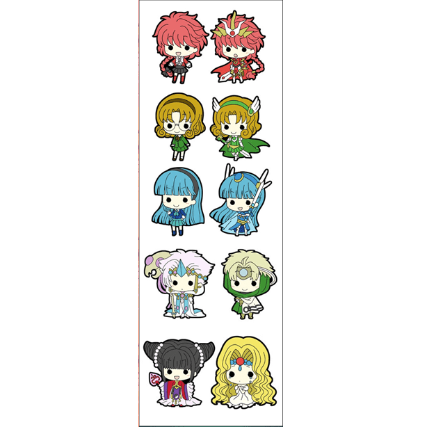 Plancha De Stickers De Magic Knight Rayearth
