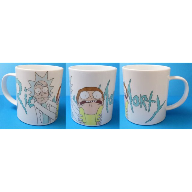 Taza De Rick And Morty