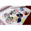 Set De 8 Stickers Circulares De Sailor Moon