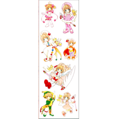 Plancha De Stickers De Card Captor Sakura (1)