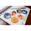 Set De 6 Stickers Circulares De Card Captor Sakura