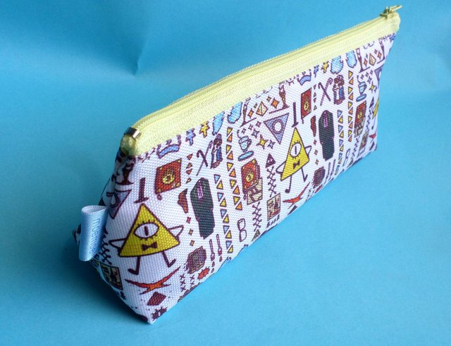 Cartuchera Triangular De Gravity Falls en internet