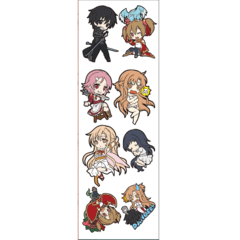 Plancha De Stickers De Sword Art Online (2)