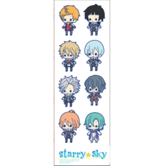 Plancha De Stickers De Starry Sky