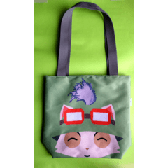 Mini Tote Bag De League of Legends - Teemo - comprar online