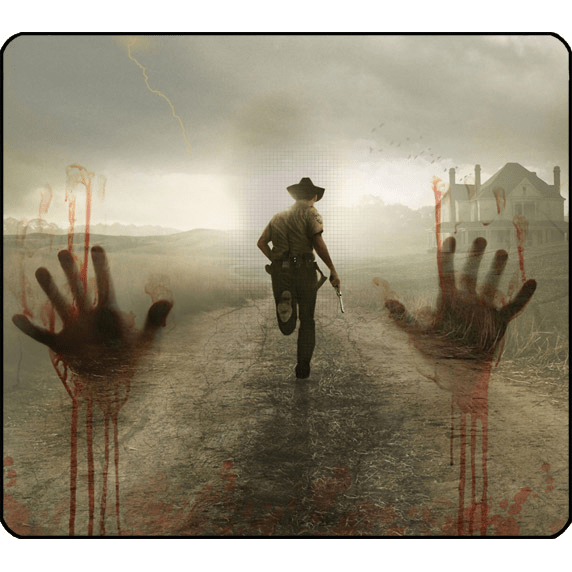 Mousepad De The Walking Dead - comprar online