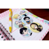 Set De 6 Stickers Circulares De Yuri On Ice