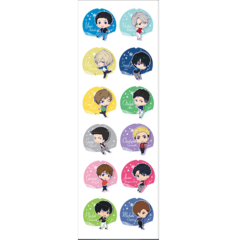 Plancha De Stickers De Yuri On Ice