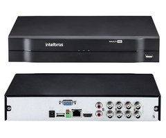 Dvr Stand Alone Multi Hd Intelbras Mhdx-1008 - 8 Canais 1080n Hdcvi - Alarmsate
