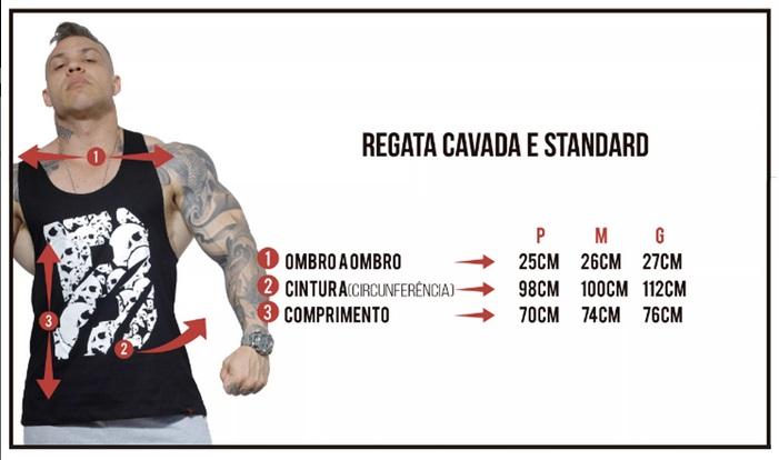 REGATA CAVADA HEAVY DUTY - Comprar em Marombeiro Store f3e622224a1