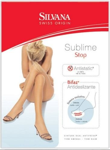 Media con antideslizante panty Sublime Silvana art. 6325a