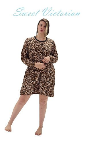 Camison Remeron Invierno 2020 Sweet Victorian Animal Print