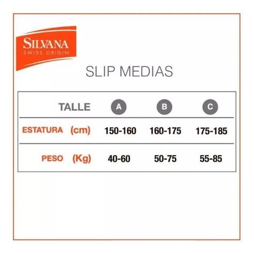 Media Reductora Panty Svelte Up Silvana Art. 5645Sp - tienda online