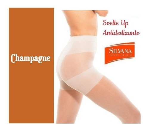 Media Reductora Panty Svelte Up Silvana Art. 5645Sp