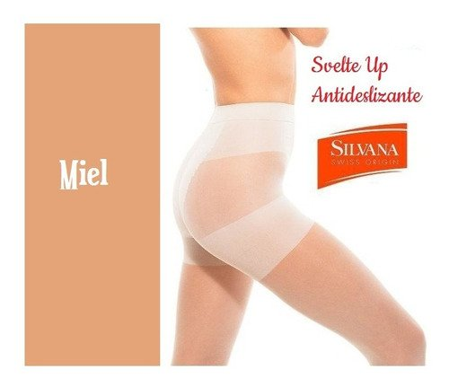 Media Reductora Svelte Up Talle Especial Bx Silvana. Art. 5645Spx