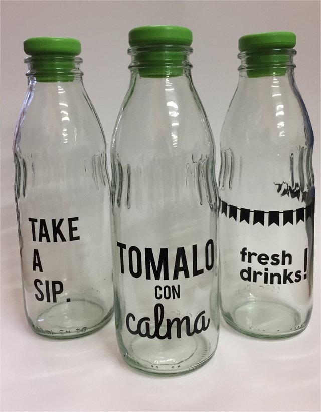 Comprar Vinilos Online.Vinilos Para Botellas Kit Party Drinks