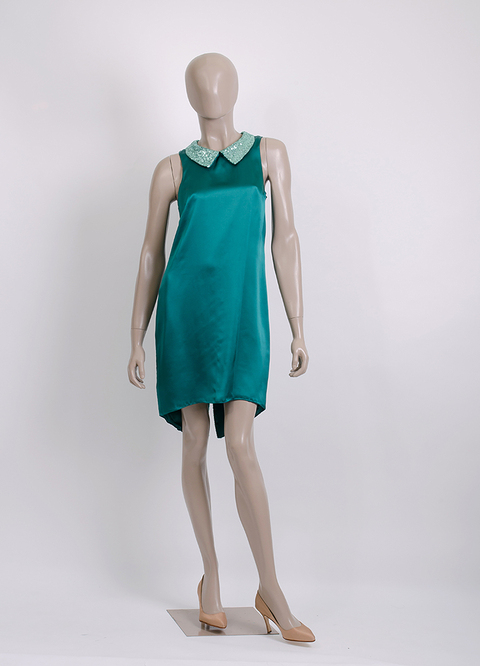 MINI TAIL DRESS GAGA I13417 - Natalia Antolin