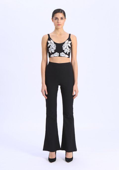 V19325 Crop top ELENA - Natalia Antolin