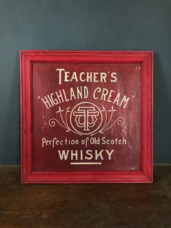 CARTEL TEACHER WHISKY ROJO