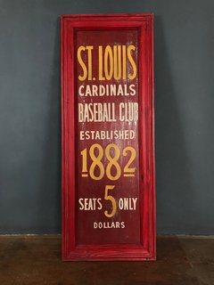CARTEL ST. LOUIS ROJO