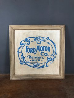 CARTEL FORD MOTOR DETROIT