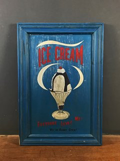CARTEL ICE CREAM BLUE