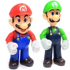 Kit Super Mario Bros - Luigi e Mario 10cm