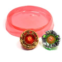 Imagem do 2 Beyblades Grandes e Raros Metal Burst - Tornado Speed Top 6D