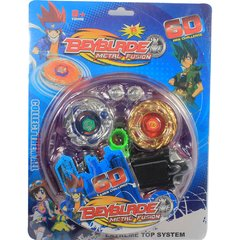 2 Beyblades Grandes e Raros Metal Burst - Tornado Speed Top 6D