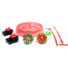 2 Beyblades Grandes e Raros Metal Burst - Tornado Speed Top 6D na internet
