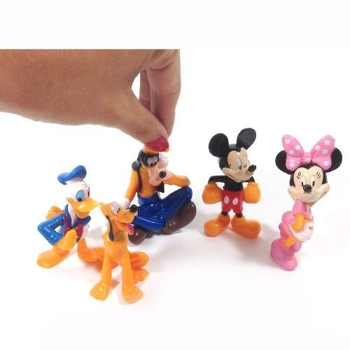 Miniaturas Turma Do Mickey , Minnie, Pluto, Pateta, Donalds - Plugados.net