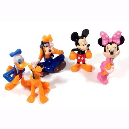 Miniaturas Turma Do Mickey , Minnie, Pluto, Pateta, Donalds
