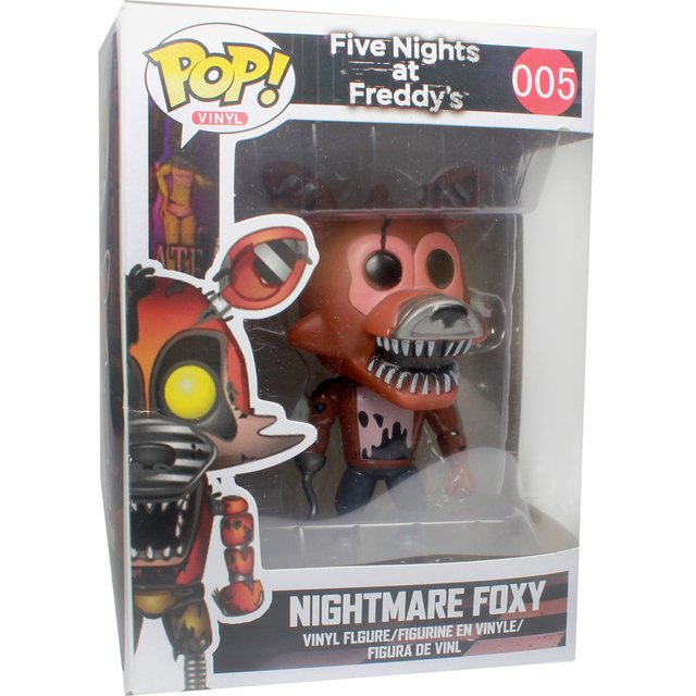 POP Games: Five Nights at Freddy's - Nightmare Foxy #005 - Plugados.net