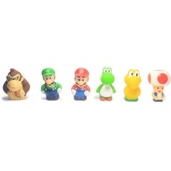 Kit Bonecos Super Mario - Super Size Figure Collection - 7cm