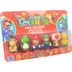 Kit Bonecos Super Mario - Super Size Figure Collection - 7cm - comprar online